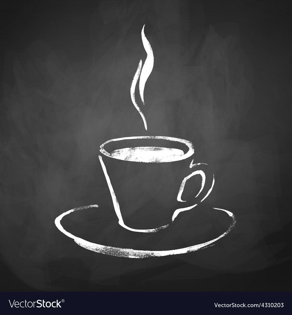 A Cup Of Coffee With Steam Royalty Free Vector Image Spon Steam Coffee Cup Royalty Ad Coffee Cup Drawing Coffee Icon Coffee Illustration