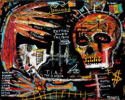 christian folk art | Outsider Folk Art Rwanda Tutsi Hutu Christian Mengele | eBay