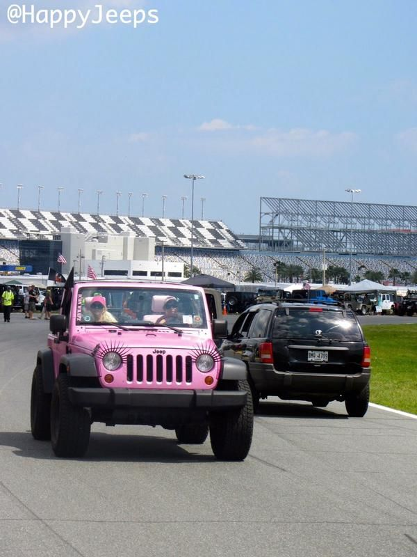 Jeep With Eyelashes Jeeplife Pink Jeep Girl Pinterest Jeeps