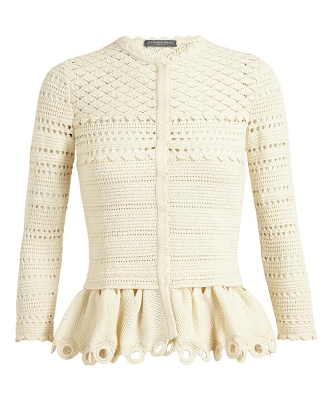 This is from a Knitting Pattern by McQueen...if you\'re talented & so ...