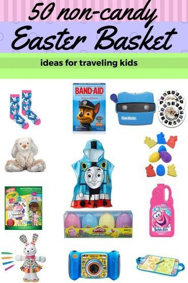 50 non candy easter basket ideas for traveling kids travel kids non candy easter basket ideas for traveling kids are becoming too hard to find negle Gallery