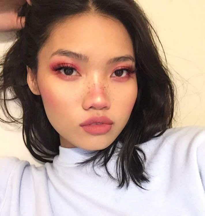Photo of Linda chica asiática Nosotros en We Heart It