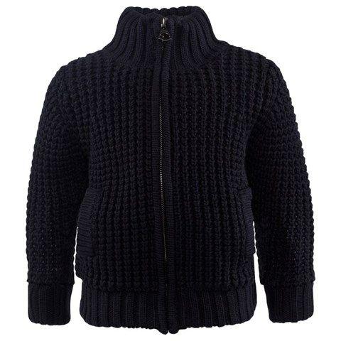 Levi's Navy Chunky Knit Cardigan | AW16 BOYSWEAR | Pinterest ...