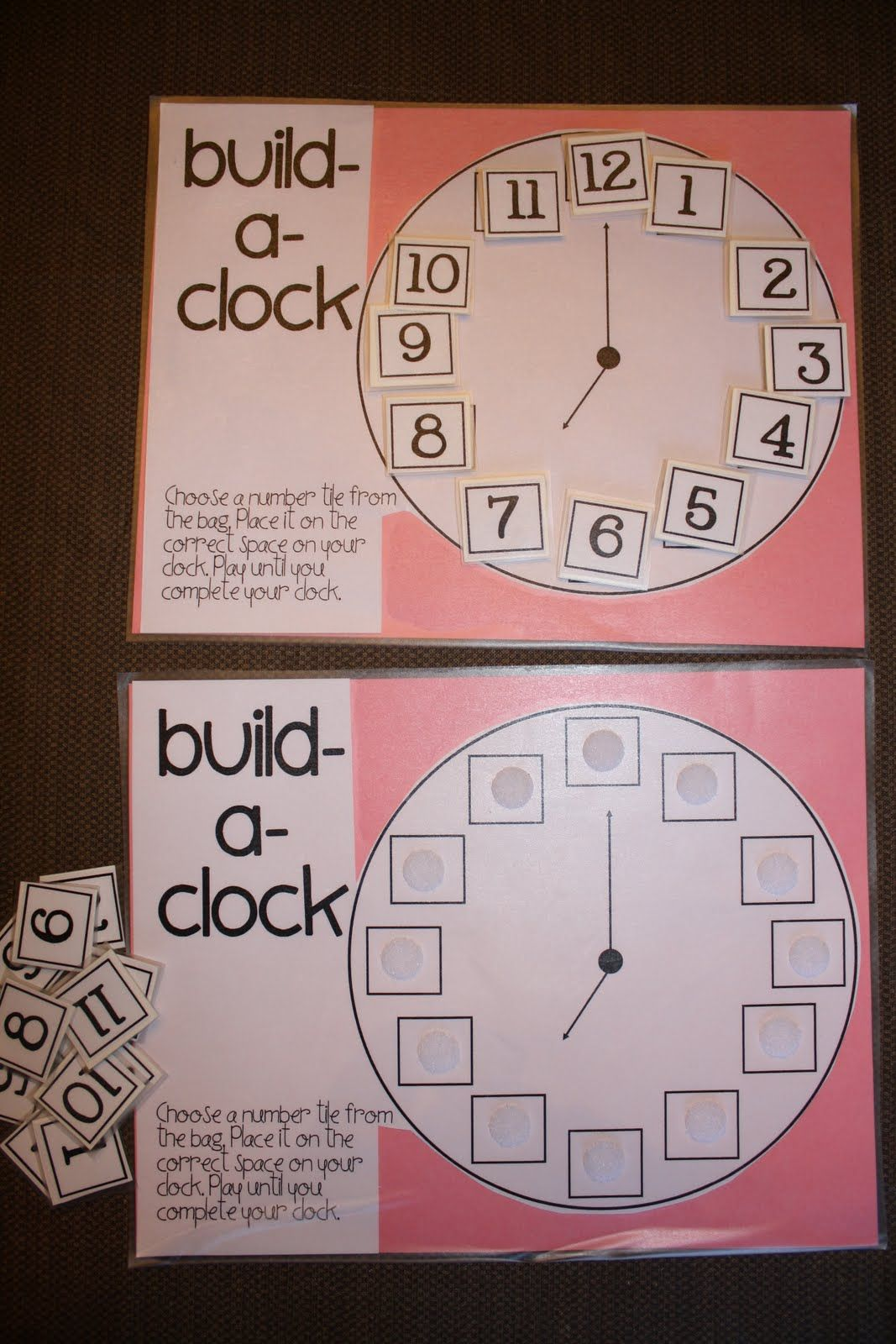Clock Use A Number Line To Demonstrate How We Order The