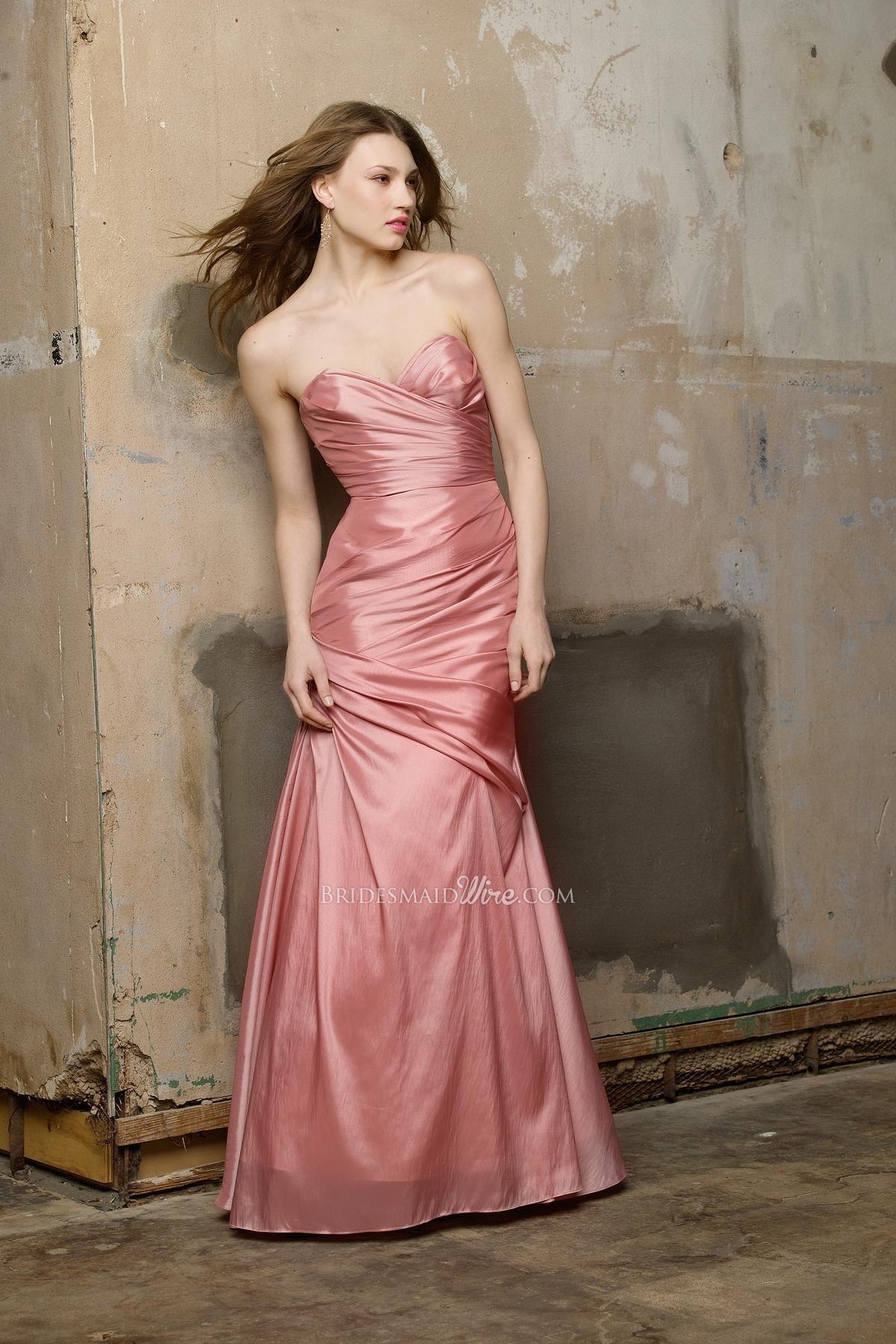 frosting taffeta strapless trumpet floor length formal dress | style ...