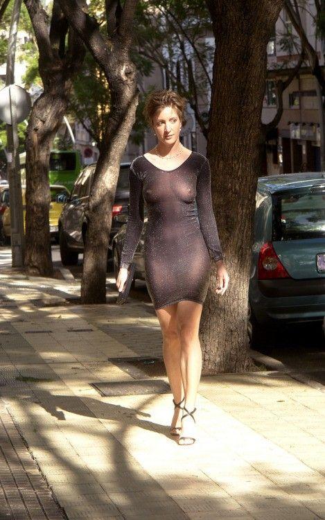 public Wife sexy dress