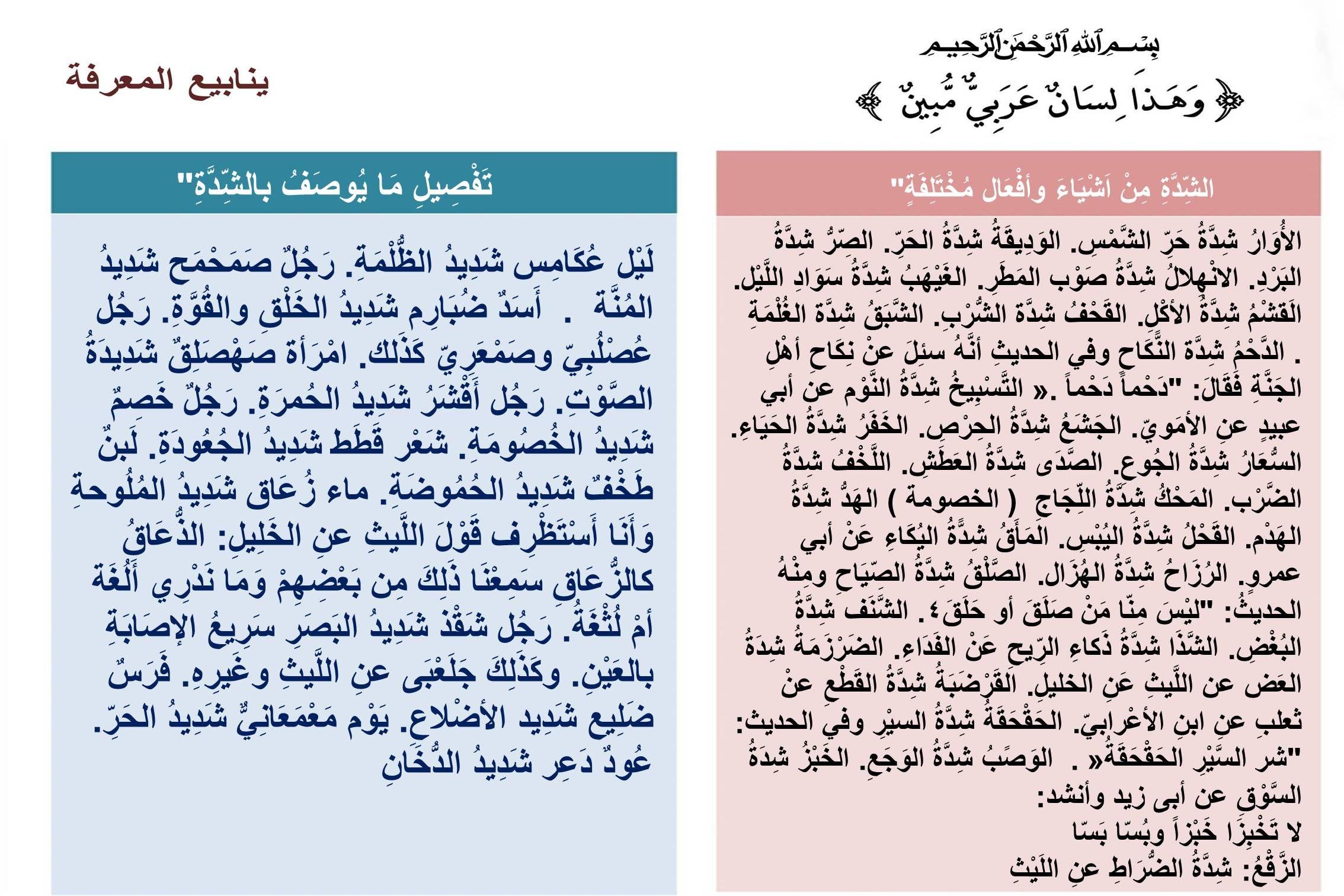 Pin By Almamlooh On لغتنا الجميلة