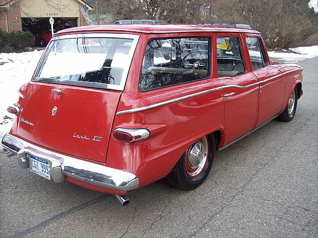 1961 Studebaker Lark VIII From Collector Car Ads
