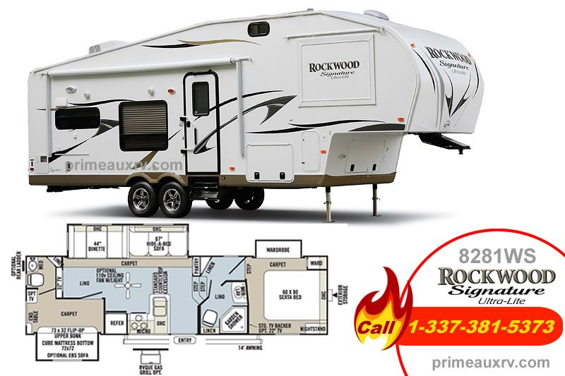 Our Popular 5th Wheel Camper Of The Month Meet The Rockwood