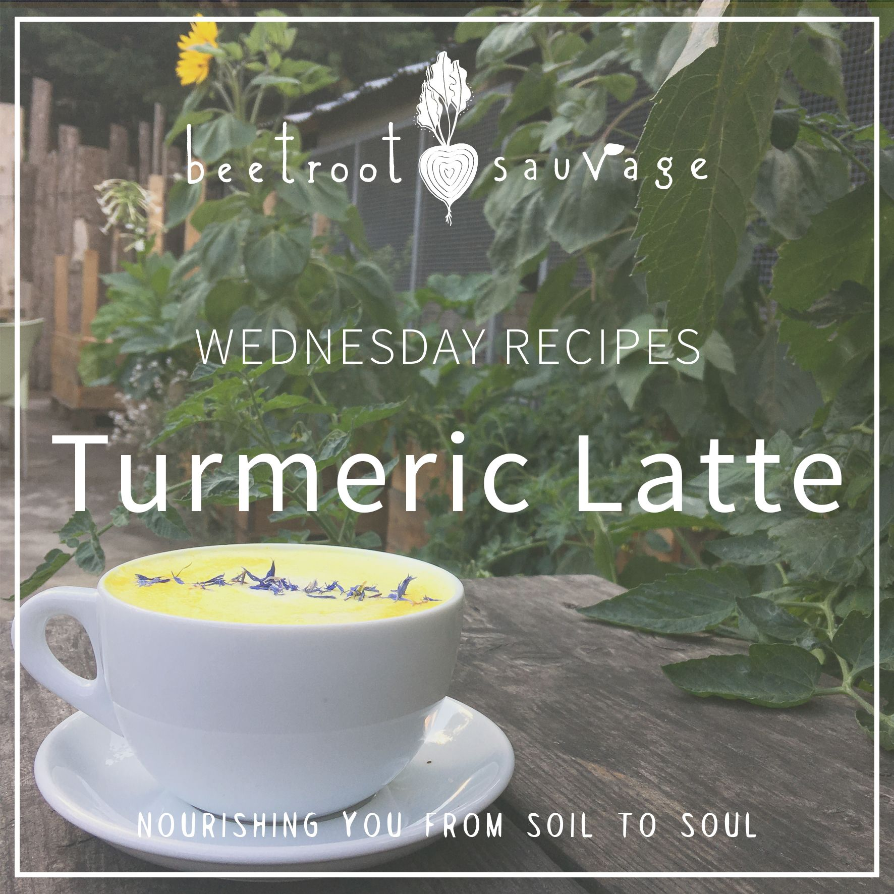 Beetroot Sauvages Tumeric Latte Is Made With Fresh