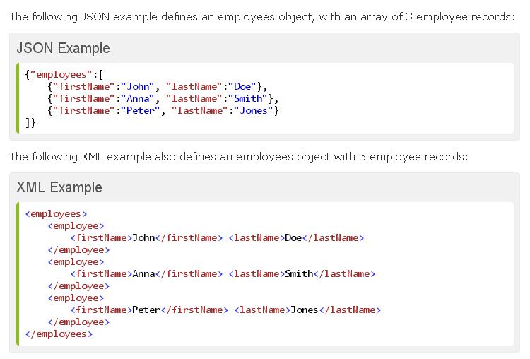 Json Syntax Versus Xml Syntax Syntax Infographic Data