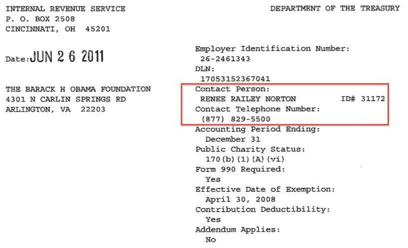 Lois LernerS Name Not The Only Irs Employee Name On Malik ObamaS