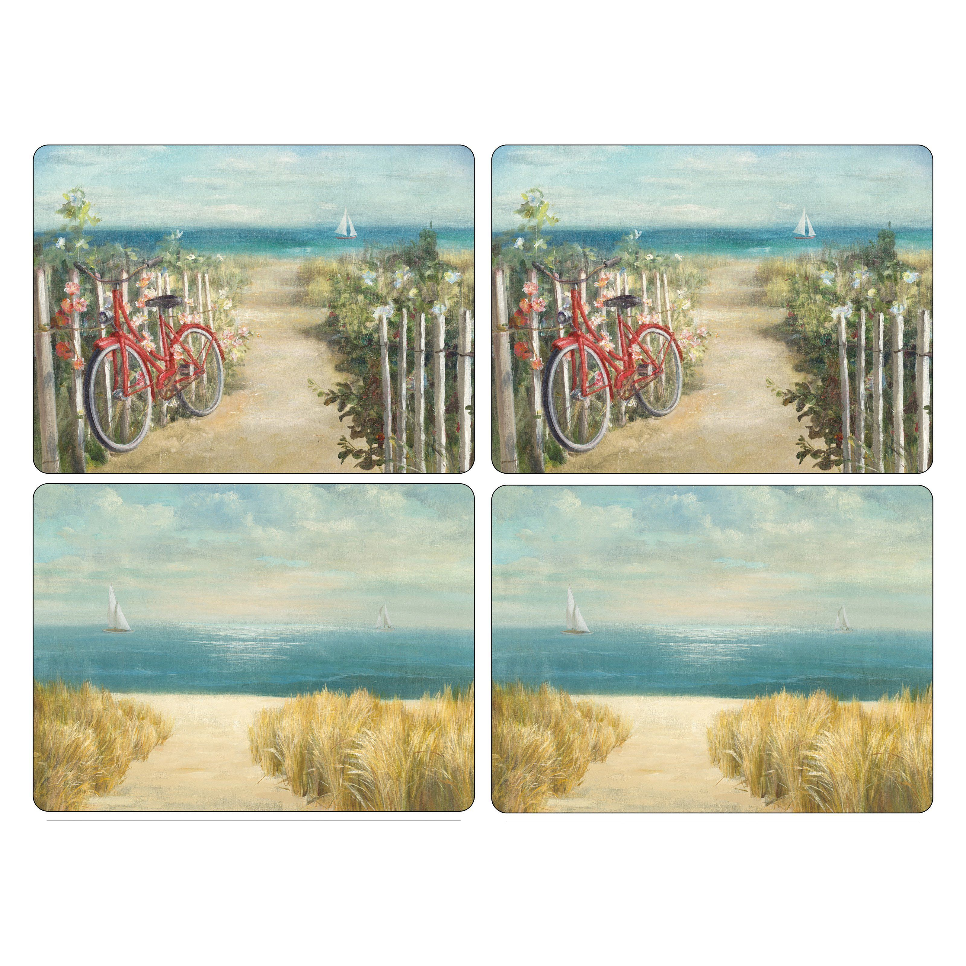 Pimpernel Summer Ride Placemats - Set of 4 - 2010648829 | Products ...