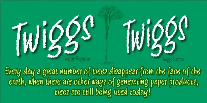Twiggs™ font download