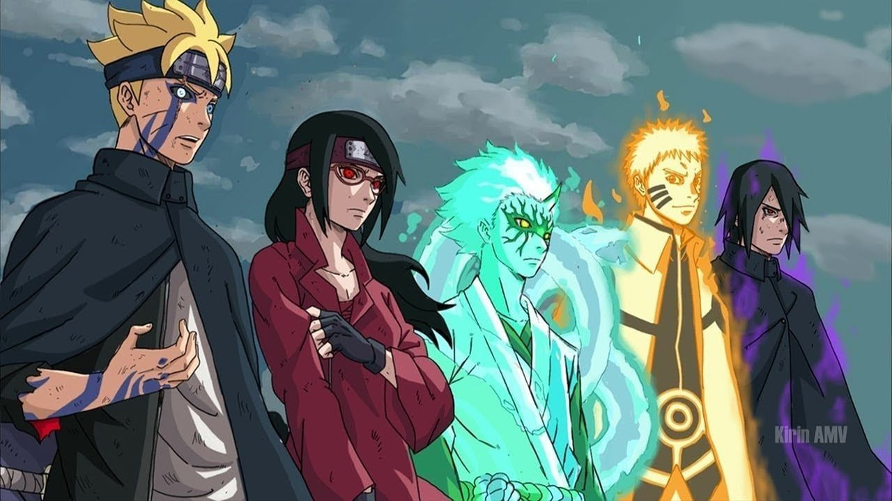 Pin by Marcus Rodgers on Anime art in 2020 Anime, Boruto