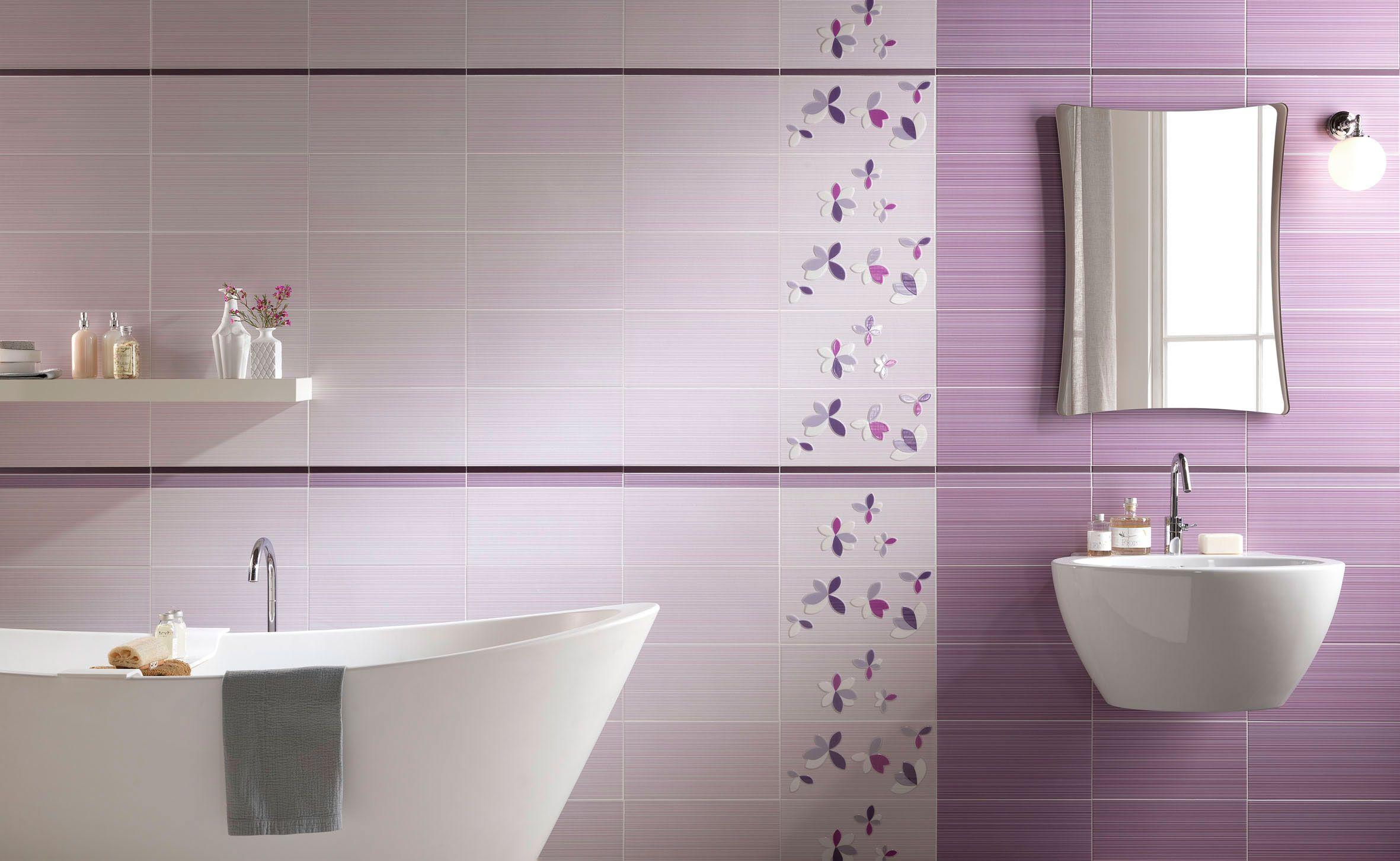 Piastrelle Bagno Mosaico Viola lafaenza ceramiche | bagni moderni, arredamento bagno, bagno