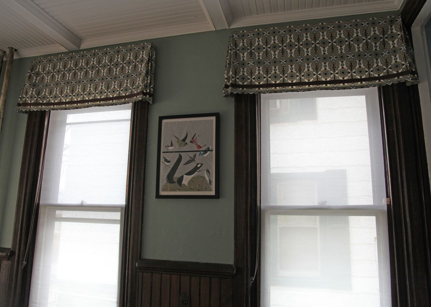 Beau Dining Room Valances