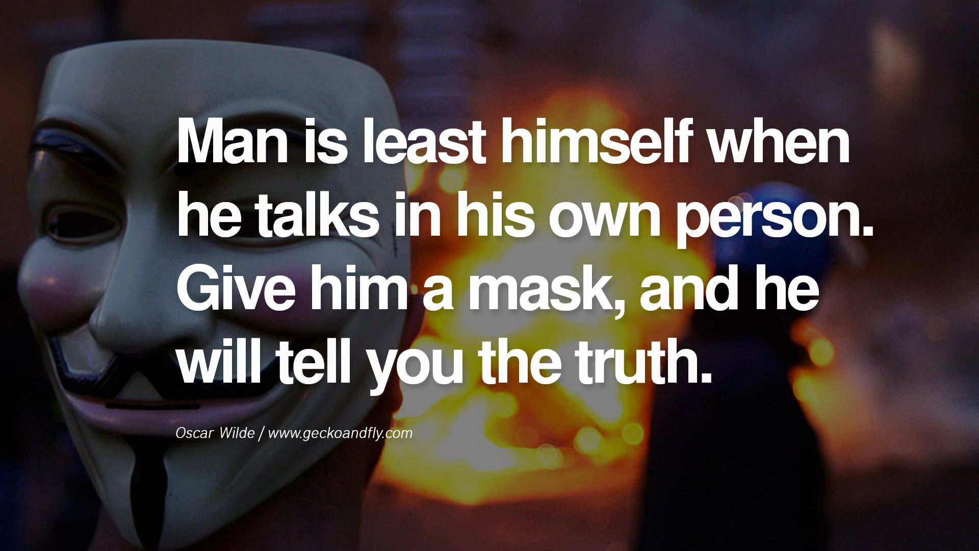 24 Quotes On Wearing A Mask Lying And Hiding Oneself Quotes
