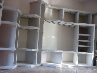 biblioth que en siporex vous avez construit vous m me une biblioth que meubles pinterest. Black Bedroom Furniture Sets. Home Design Ideas