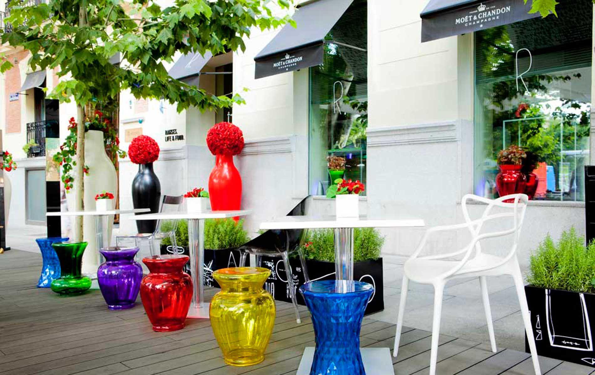 Ramses Madrid Kartell Philippe Starck Terrace