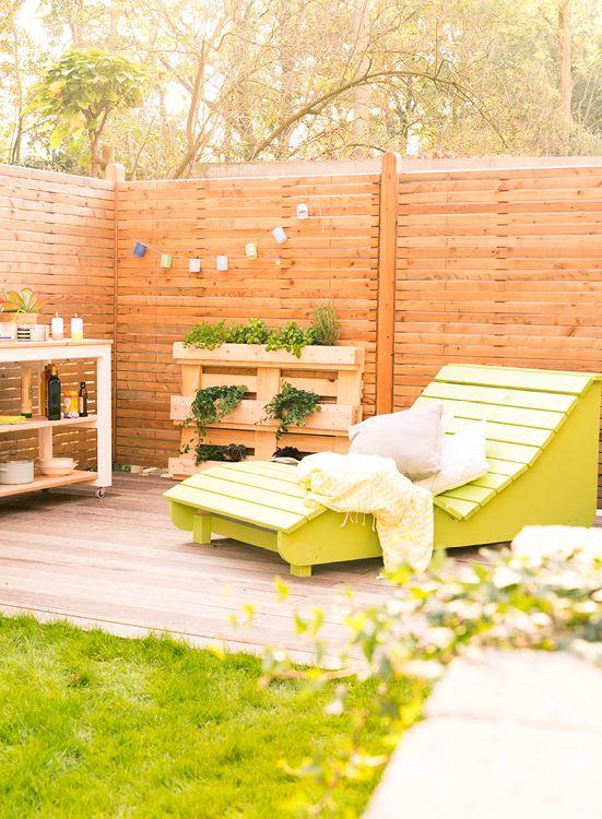 Gartenliege selber bauen  Wellenliege Lena selber bauen - Gartenmöbel | Gartenmöbel jetzt ...