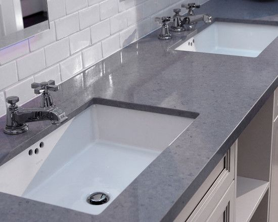 Spaces Subway Tile Backsplash Badezimmer Arbeitsplatten Badezimmer Design Bad Inspiration