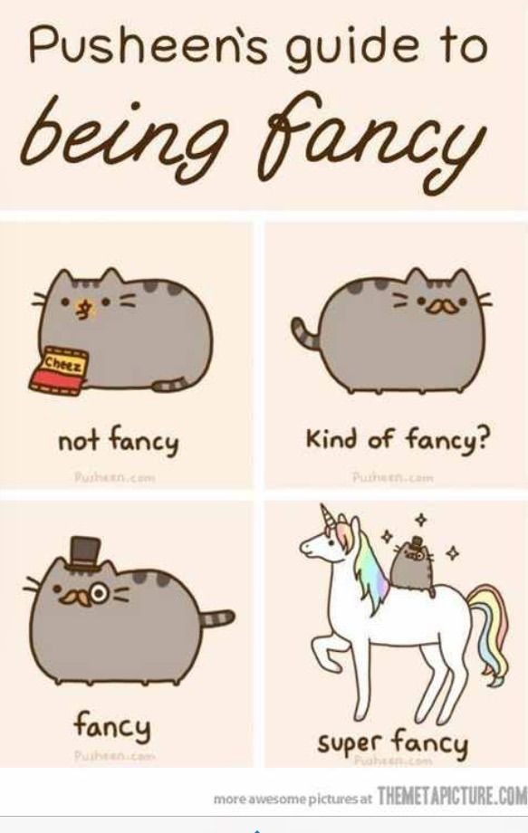 The best way to be fancy!!!!!