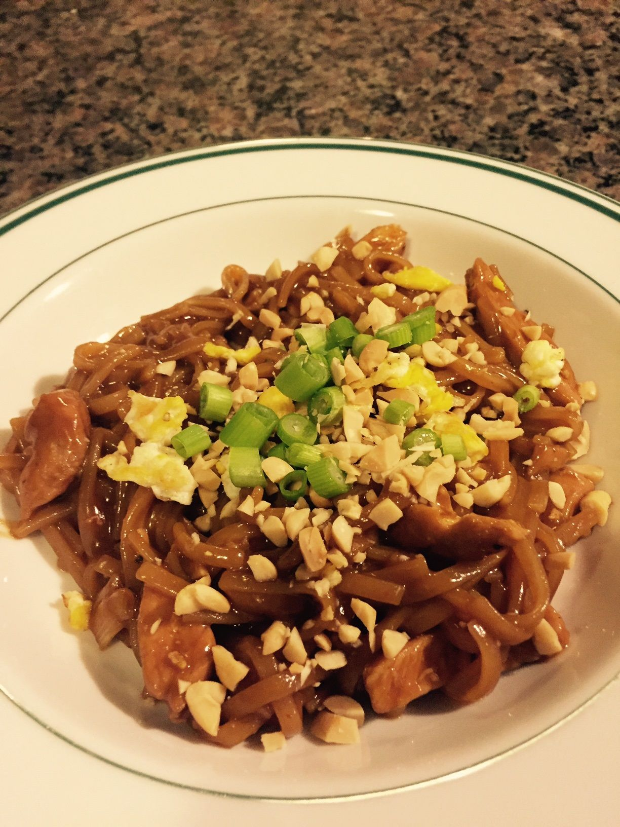 Pad Thai Original recipe from a Sur la Table cooking class My