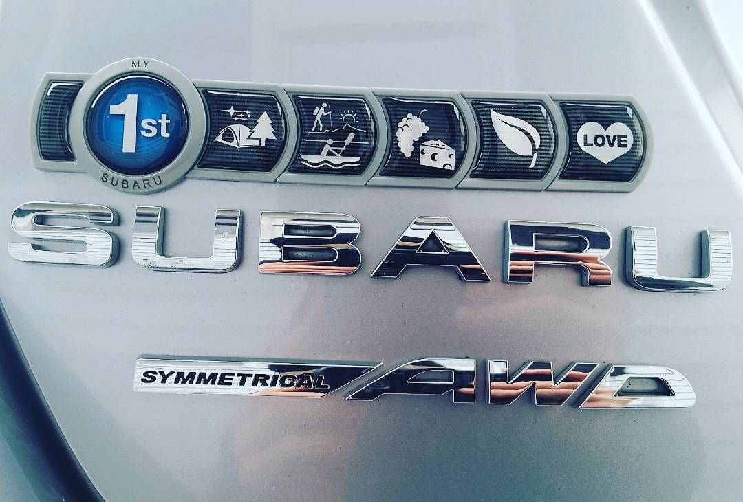 Subaru Badge Of Ownership >> Finally Found The Time To Put On My Badge Of Ownership