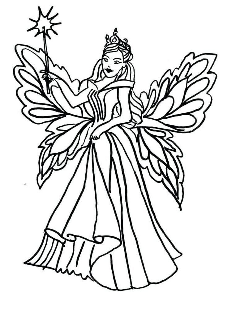 King Queen Coloring Pages The Following Is Our Collection Of Free Queen Coloring Page You Are Free T Fairy Coloring Pages Fairy Coloring Angel Coloring Pages