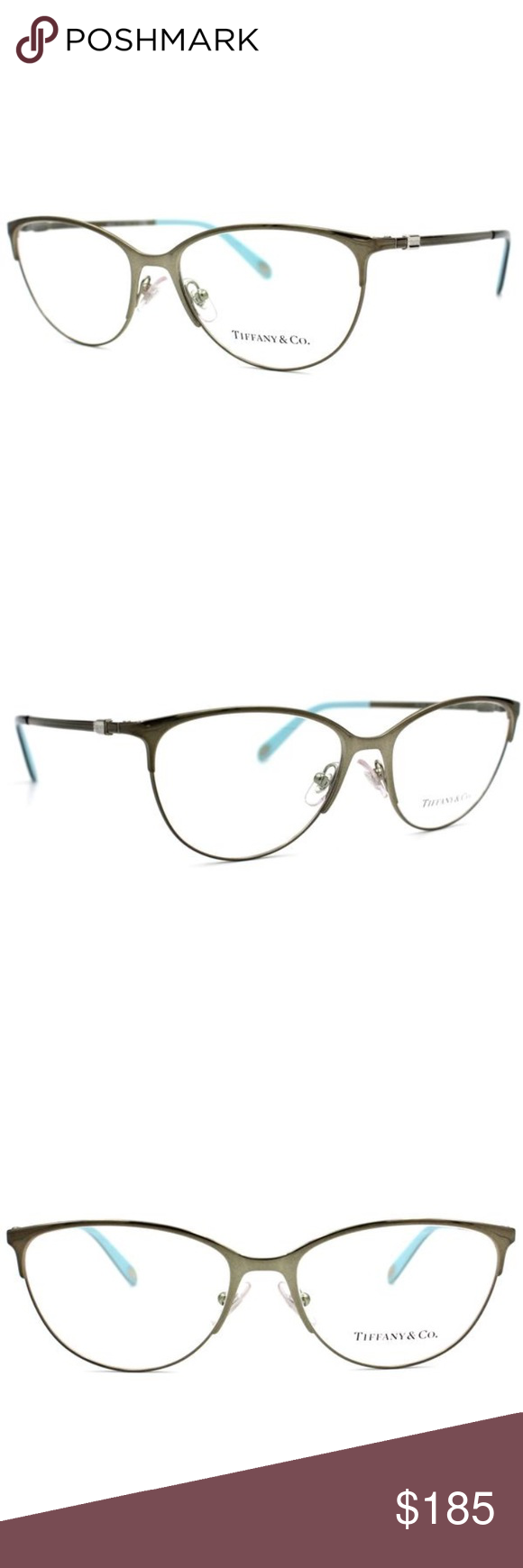 Tiffany & Co Cat Eye Prescription Glasses Frame Tiffany & Co. Cat ...