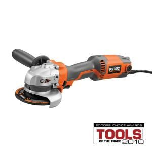 Ridgid 4 1 2 In Angle Grinder R10051 At The Home Depot Herramientas Home Depot