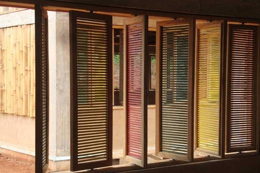 Unique Bamboo Window Design 4