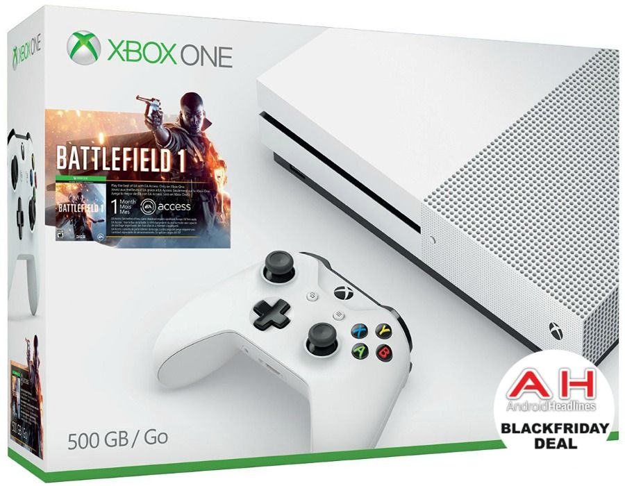Deal Xbox One S 500gb Battlefield 1 Bundle For 249 11 25 16 Xbox One S Xbox Console Battlefield 1