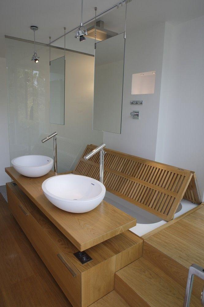 Villa A / A-OMA Grande baignoire, Hauteur sous plafond et Gain de