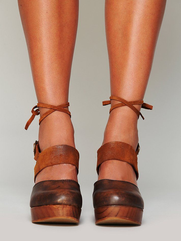 dda8d8784d FP Collection Belmont Leather Clog at Free People Clothing Boutique
