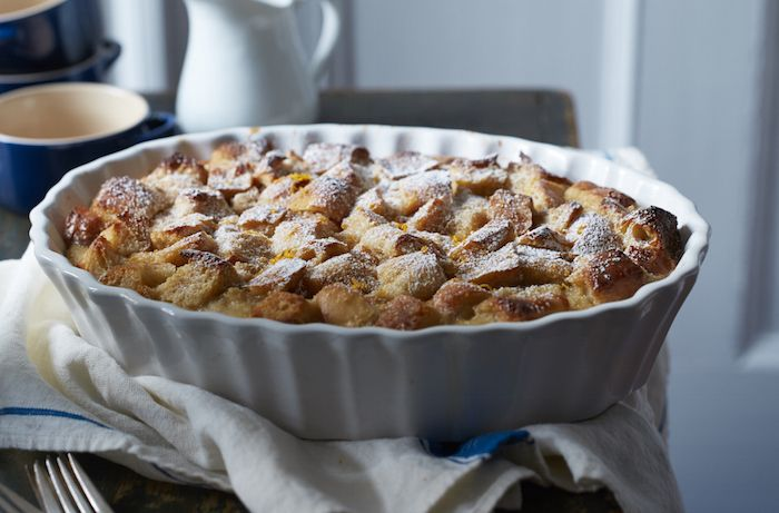 When it comes to the perfect holiday dessert, go for this comforting bread pudding with rum sauce.