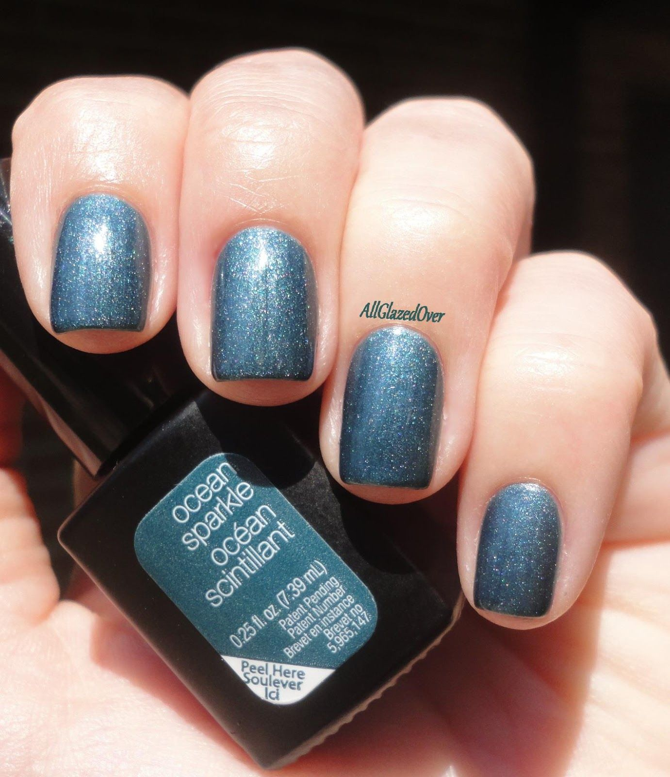 Sensationail Color Gel Polish Blue Yonder by nailene #17