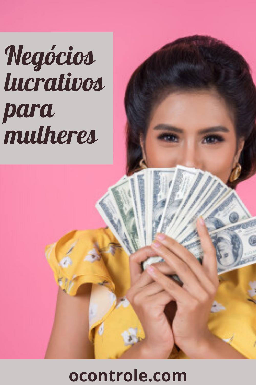 Negócios lucrativos para mulheres.