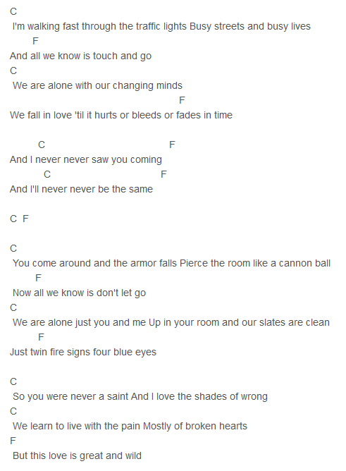 State of Grace Chords Capo 4 | The Uke and I | Pinterest | Guitars ...