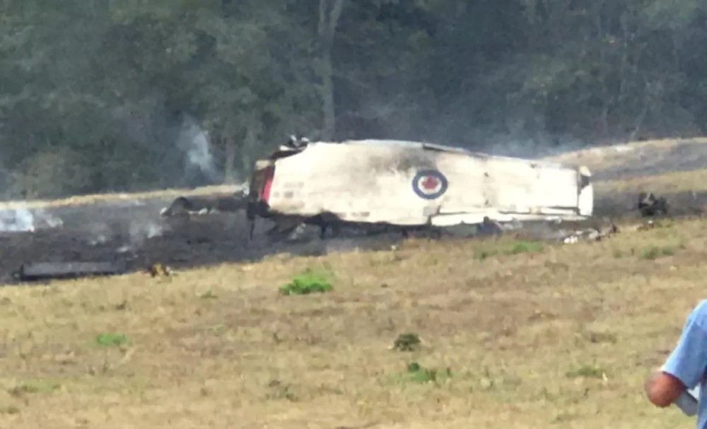 Snowbirds pilot safe after ejecting from plane in