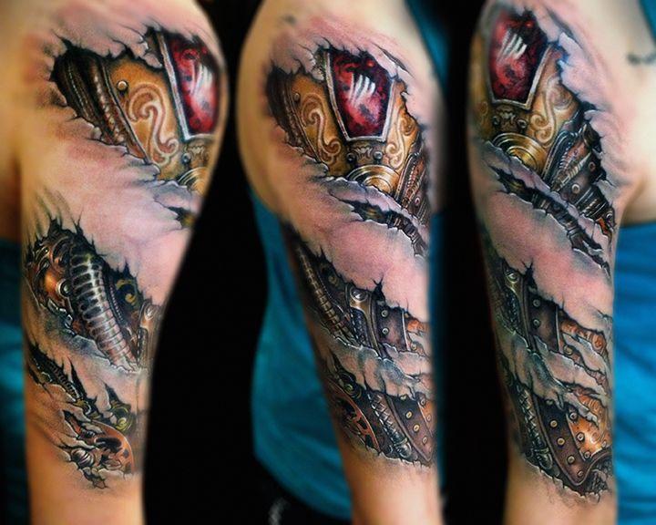 Biometric Metal Tattoos Tattoos Pinterest Metal
