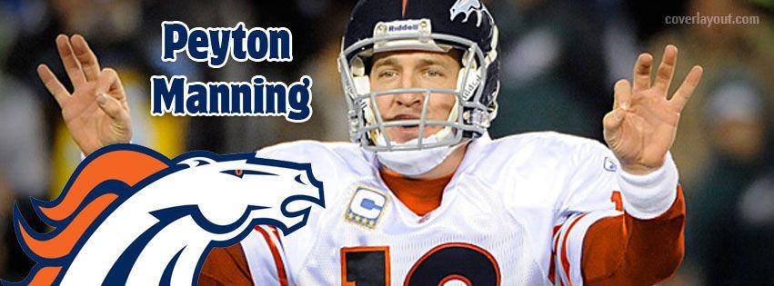 Peyton Manning Denver Facebook Cover