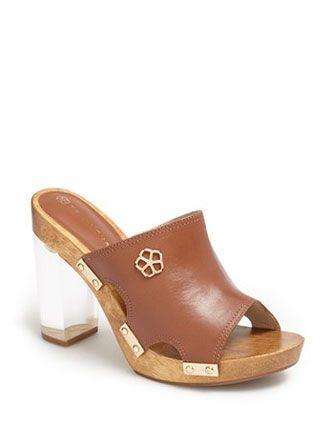 TRINA TURK 'Palm Springs' Acrylic Heel Sandal