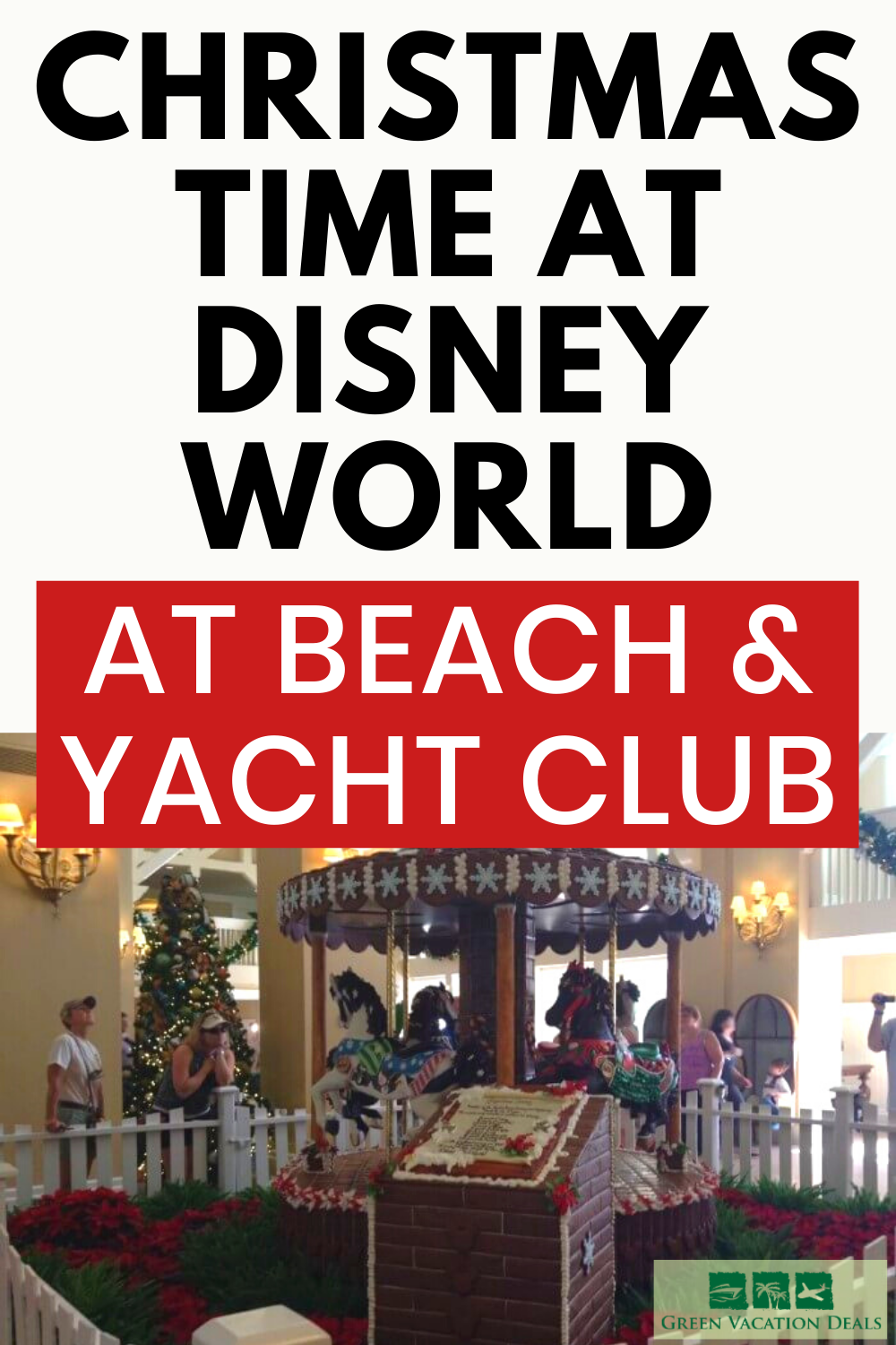 Christmas Time At Disney World Why You Should Stay At Beach Yacht Club Green Vacation Deals Disney World Christmas Vacation Destinations Family Holiday Idea