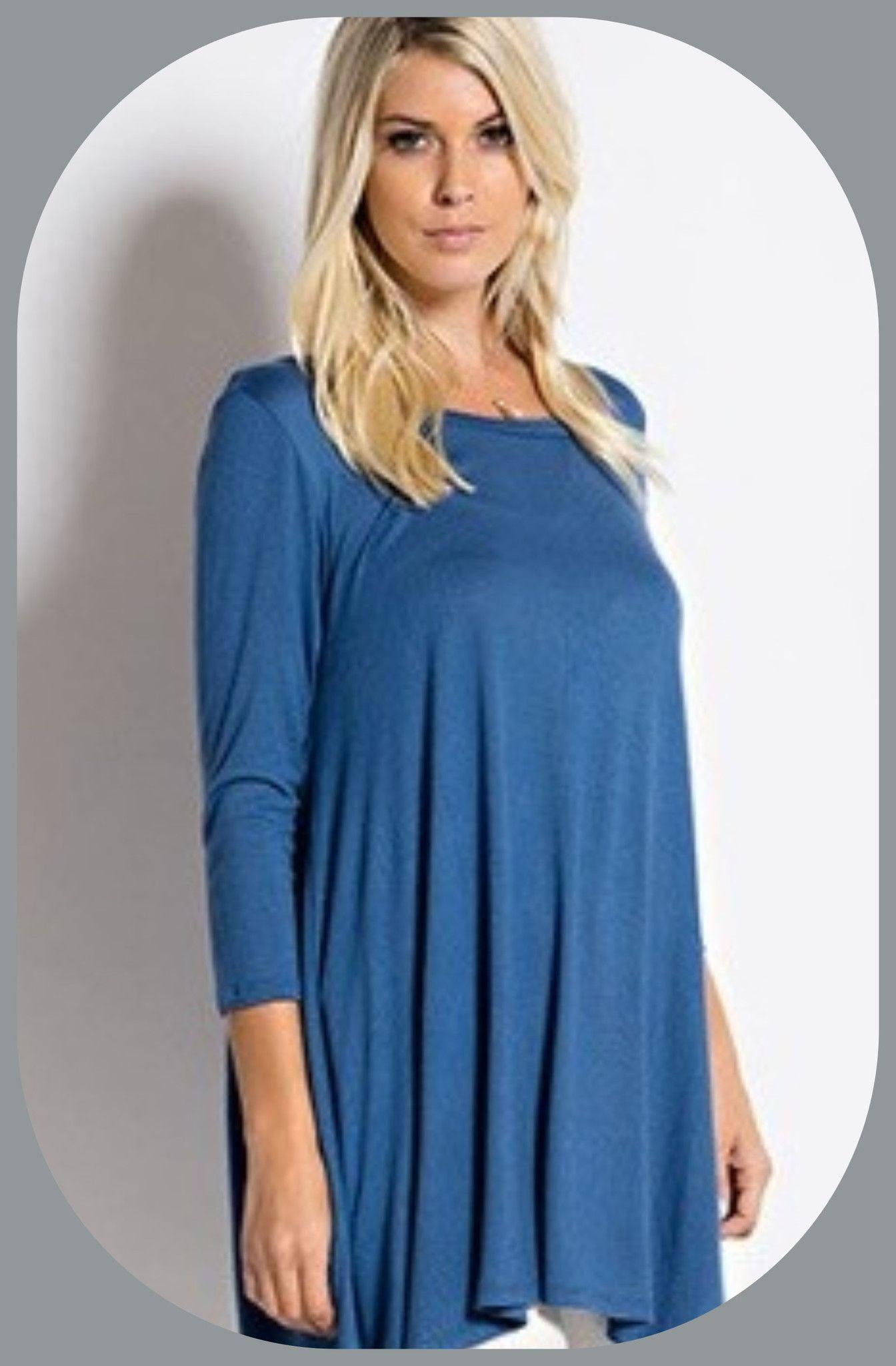 Long Sleeve Color Tunic