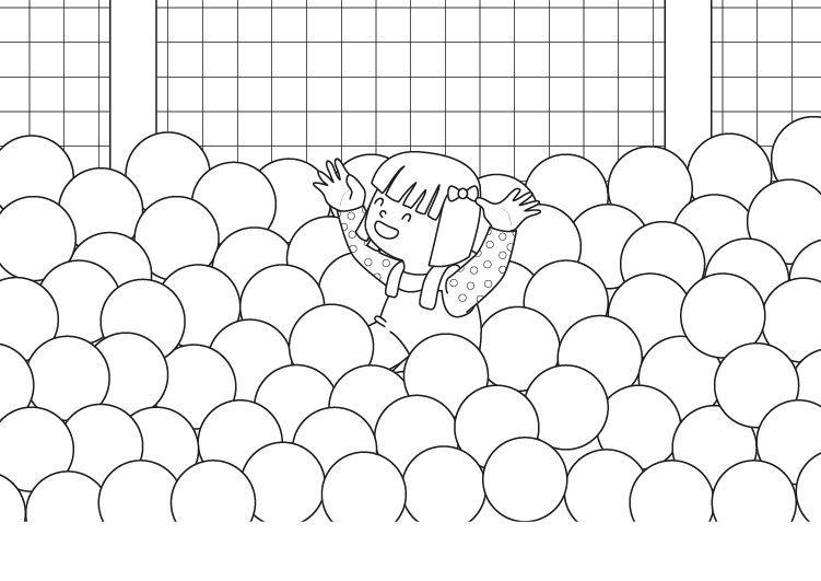 Piscina De Bolas Dibujo Para Colorear E Imprimir Dibujos