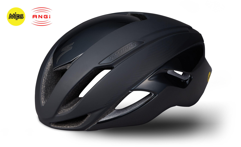 S Works Evade With Angi Helmet It Works Aerodynamics