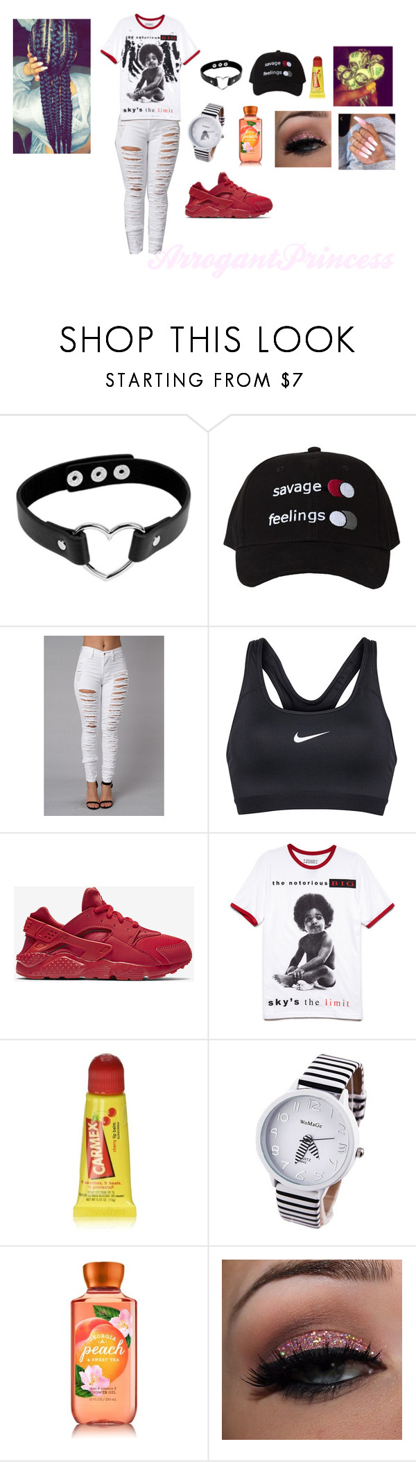 """Untitled #185"" by arrogantprincess on Polyvore featuring NIKE, 21 Men and Carmex"
