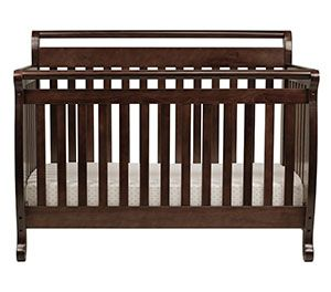 10 Davinci Emily Four In One Convertible Crib Bedding With Toddler Rail Espresso Best Baby Cribs Baby Crib Bedding Convertible Crib